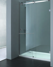New popular bubble glass shower / glass enclosed showers