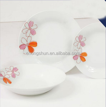 Fast Reply Restaurant porcelain dinner sets
