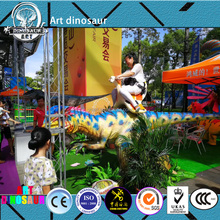 Walking Animatronic Dinosaur Kiddie Ride,Coin Operated Amusement Dinosaur Rides,Funny amusement park rides