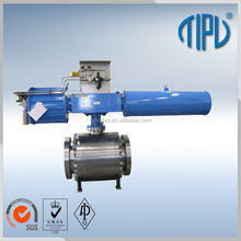 Pneumatic Actuator Control Type 4 Inch Cast Steel Ball Valve Price