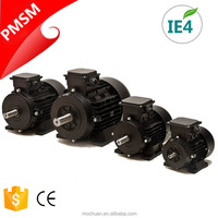 0.4kw 230V three phase 50hz ac motor 250w, permanent magnet sychronous motor for air compressor