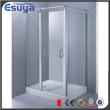 China supplier new design europ style 2 sided italian shower enclosure