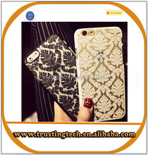 Newest Fashion Colorful Luxury Vintage Flower Pattern Case Cover for 5 5S