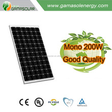 Hot selling module 200w 220v mono cell photovoltaic solar panel for Sao Tome