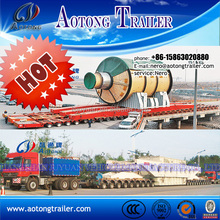 heavy equipment transporter self propelled modular trailer SPMT for sale