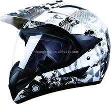 Motorcycle Full face helmet,Motocross Accessories,ECE and DOT Homologation Approved,high quality