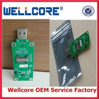 Hot selling Mini PCI-E WWAN to Usb adpater with SIM card slot
