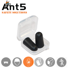 Airline use disposable PU foam earplugs in individual packing with factory wholesale price