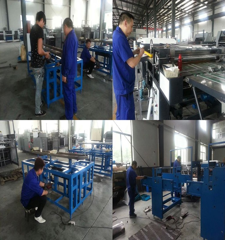 1 clamp perfect hot melt glue book binding machine with 440*300mm