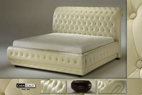 Casa Italy Bed Frame 5049, Bedroom Set, Upholstery Bed, Modern Bed