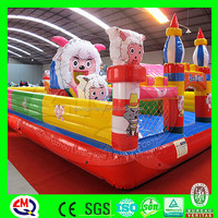 Amusement park outside playground inflatable bumper ball
