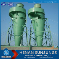 Henan Sunsungs prefessional supplier cyclonic pre filter for cement plant