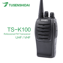 TSSD K100 Walkie Talkie 16 channels analog two way radio