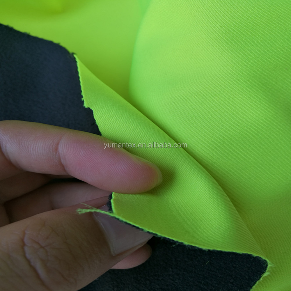 Softshell fabric/네 way stretch polar fleece 1.0g 을의 fabric