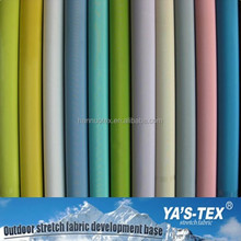 From Ya's-Tex Woven Nylon Spandex Twill Fabric/ High Quality Nylon 4 Way Stretch Fabric For Lady's Garment