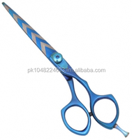 Zebra Stripped Hairdressing Shears | Braat Professional Zebra designs Stylist Hair Cutting Scissors Barber Hair Scissor