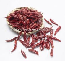3-7cm high hot level CHAOTIAN CHILI with SHU 20000-25000,packed in 8kg*3 vaccum bag per poly woven bag