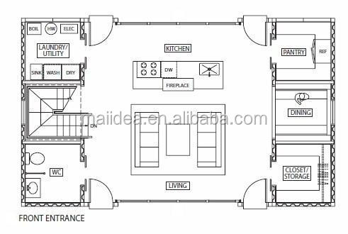 Container storage portable storage container container for Shipping container garage floor plan