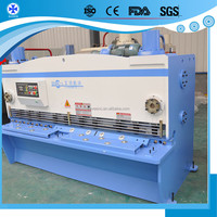Heavy automatic used guillotine shearing machine punch and shear machine