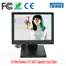 Cheap Small Size HDMIed USB VGA LCD 12 inch Touch Screen Monitor