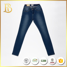 China factory popular woven yarn dyed new style jeans pent men