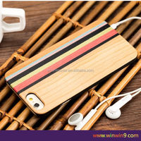 New design metal bumper case for iphone ,for iphone6 case wood phone cover