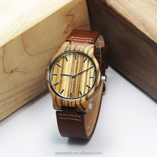 pure wooden watch oem wholesale in China