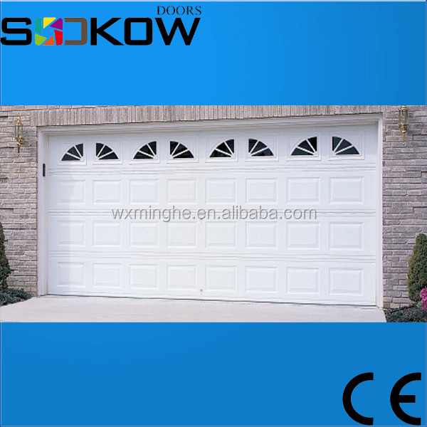 overhead single panel garage door/insulated sectional garage door/single steel garage door