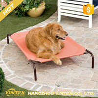 Dog Bed with Strong Frame and Waterproof Cover