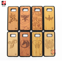 Amazon Hot Products New Design Wood Phone Case For Samsung Galaxy A40s A50 A60 A70 S10