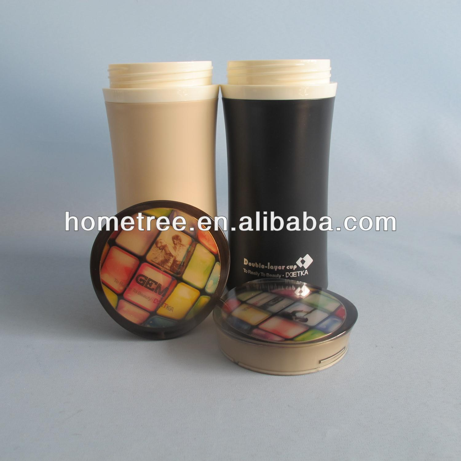 320mll insulated plastic cups heat resistant