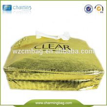 eco friendly hot selling recyclable zipper pp non woven bag