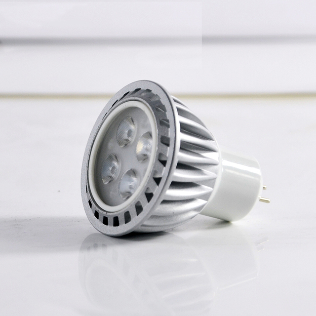 high luminous 3w 6w 9w Mr16 GU10 E27 dimmable led spot light