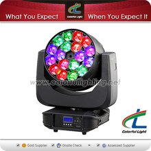 Manufacturer Price 18 X15W RGBW 4IN1 High Quality Led Zoom Moving Head