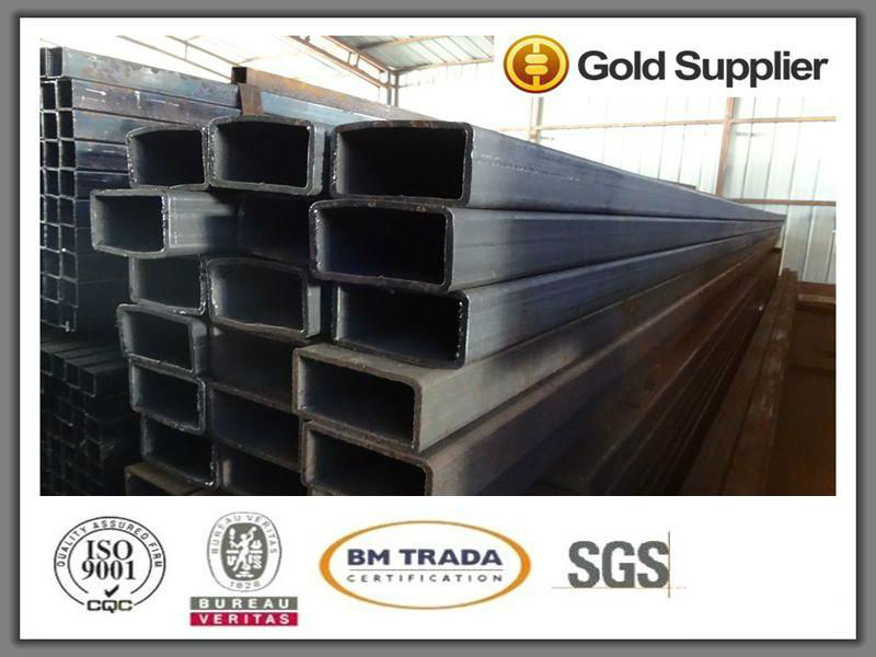 Galvanized square steel pipe from Tianjin China