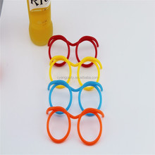 10.24'' DIY Drinking Straw Eye Glasses Straws with Multiple Colors 23010