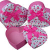 White Heart Shaped Gift Paper Packaging