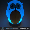 Promotion night light table lamp portable bluetooth speaker with color change mode