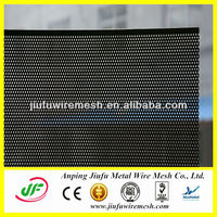0.5mm Thickness Aluminium Plate Perforated Metal Mesh Black Powder Coated(Anping Jiufu Factory, 14 Years Factory, CE&ISO9001)