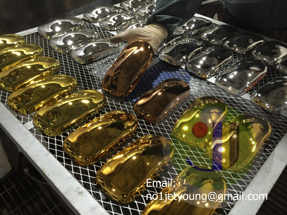 Gold plating chemical-spray chrome gold color chrome spray paint gold and silver chemial
