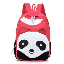 Fashion Lovely Panda Canvas Women Backpack School Bag Student Shoulder Bags For College Girls Teenagers Mochilas Casual Daypacks