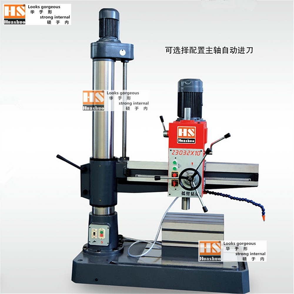 Z3032 mechanical metal material drilling processing vertical radial drilling machine