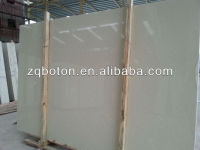 <Boton Stone> wholesale artificial white polished marble/faux stone for interior panels
