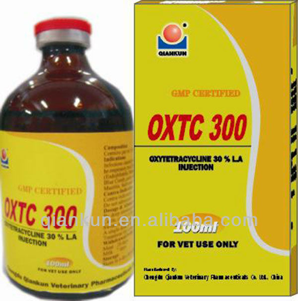 Veterinary Drugs: Oxytetracycline Injection 5% in Chengdu Sichuan