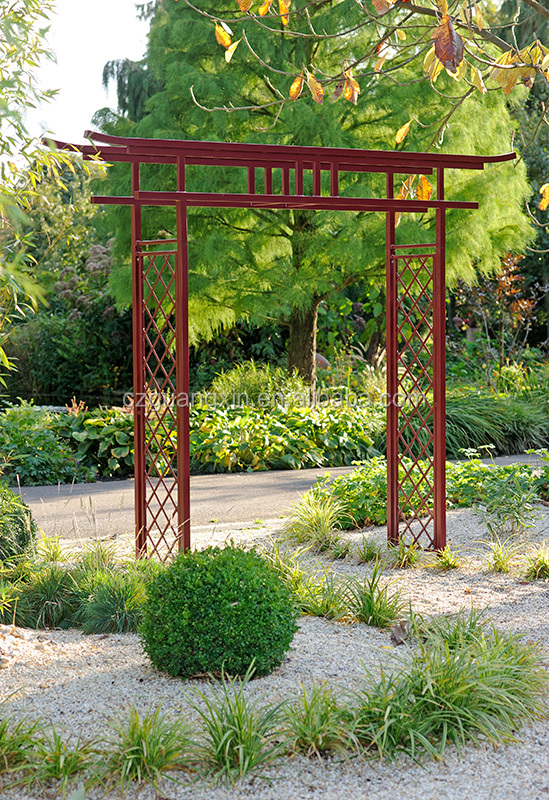 Japanese Gate Torii/Gate to the Japanese Garden/Iron garden main gate designs