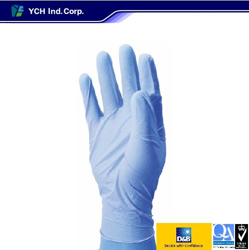 Quality Medical Purple Latex Exam Dental Gloves