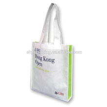 Promotional custom cheap fabric gift non-woven shopping bag with handle