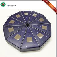 Triangle individual pie slice box , cake slice box for wedding