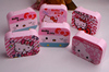 Pink Hello kitty cute custom contact lens cases
