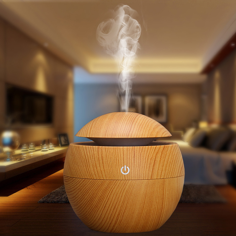 Hot selling 2017 amazon Mini Portable Mist 130ml Essential Oil Aroma Diffuser